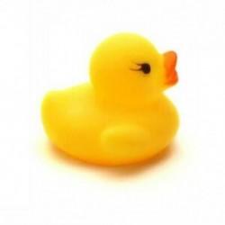 1X (5 db sárga baba gyermek fürdõjátékok aranyos gumi ragacsos kacsa Ducky Q4O9)