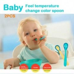 2db-os termikus színű baba gombóc szett biztonságos színváltó termosztatos babakeverékhez C1P8
