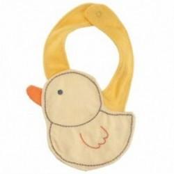 Gyerek csecsemők csecsemő aranyos rajzfilm állati mellvéd ebédrudak lágy törülközővel (Typ X5A6