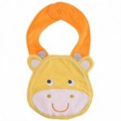Gyerek csecsemők csecsemő aranyos rajzfilm állati mellvédő ebédruha mellény lágy törülköző (V4I5 típus)