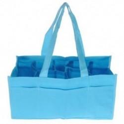 Utazási szabadtéri hordozható baba pelenka pelenka tároló betét Organizer Bag Tote D6Y1