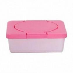 1X (száraz és nedves papírtartó tok, baba törlőkendő szalvéta tároló doboz tartójának Co P6K3