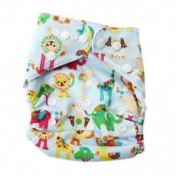 Baby Piaper Cloth pelenka nadrág felett Pant állítható edzésvisszaható P5F8