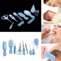 Kék 10db anyai csecsemő újszülött egészségügyi biztonsági hőmérőjű körömvágó H J0I6