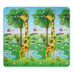 1X (Baby Kid Toddler Play Crawl Mat Szőnyeghab takarószőnyeg be- és ki ajtókhoz C7F6