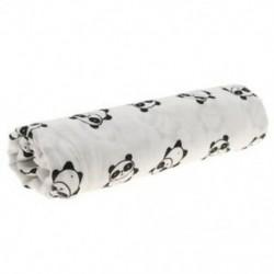 2X (Cotton Lange, újszülött Swaddle Blanket hálózsák, 110 cm x 110 cm - Pan H8K7