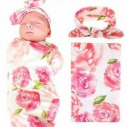2X (Újszülött baba takaró és fejpánt értékkészlet, Fogadó takarók, Q9V3
