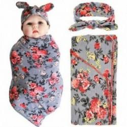2X (Újszülött baba takaró és fejpánt értékkészlet, Fogadó takarók, g N3T7