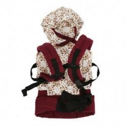 2X (pamut bébihordozó csecsemő kényelmes hátizsák csattal ellátott divat Fu X9O8