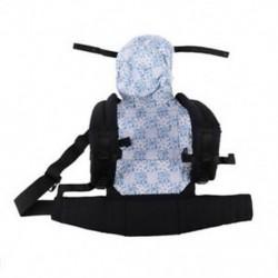 2X (Baby Toddler Kids ergonomikus, lélegző, állítható hordozó, motorháztetővel Duku I9G5