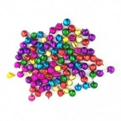 50 db véletlenszerű színes kézműves készletek és kellékek karácsonyi Jingle Bells / Small Be G5J5