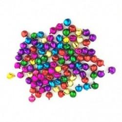 50 db véletlenszerű színes kézműves készletek és kellékek karácsonyi Jingle Bells / Small Be G6N5