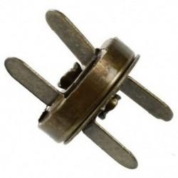 10X bútorzárás Bronz fém mágneses csat Új 14mm L5I9