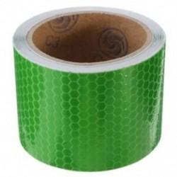 zöld - 1X (5 cm x 3 m szalag figyelmeztető szalag visszaverő szalag biztonsági szalag N3L3)