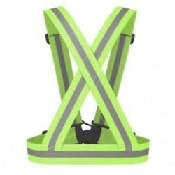 1X (fényvisszaverő biztonsági mellény, fényvisszaverő öv láthatósága, keresztszíj sáv, Harnes W2P8