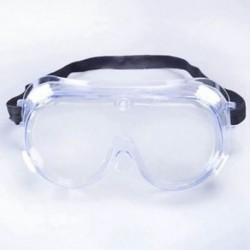 Anti-Impact vegyi fröccsenés elleni védőszemüveg Gazdaságos átlátszó Lens Eye Prot B3J2