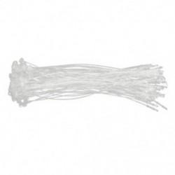 2X (500 x műanyag párnaápoló címkeruhamosó ár Transpa P6R5 műanyag kötél