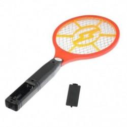 Szúnyoggyilkos elektromos teniszütő ütő rovar légybogár Zapper darázs Swatt H6Q6