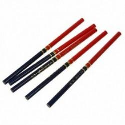 5 db-os fa vörös és kék jelölésű rajz Asztal ceruza J6Z5