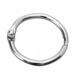10 csuklós gyűrűs fém kötőanyag kézműves osztott csuklópánt a Scrapbookinghoz Fotóalbum X4P3