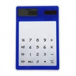 1X (Ultravékony érintőképernyő, 8 számjegyű napenergia átlátszó számológép Offi F5U5