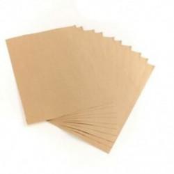 1X (10db-os kraft matrica papír hőfesték átvitelhez A4 öntapadós barna Kra A3Y9