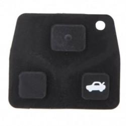 1X (3 gombos távirányító kulcs-javítókészlet, esetleg FOB-gumi pad, a Toyota Av Q8W6-hoz