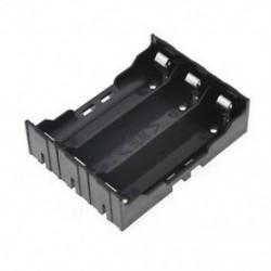DIY elemtartó 6 tűvel 3x 18650 újratölthető Z2D4 Li-ion akkumulátorokhoz