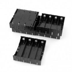 5 db-os Li-ion DIY akkumulátor műanyag toktartó 4x3.7V 18650 X6L4 akkumulátorhoz