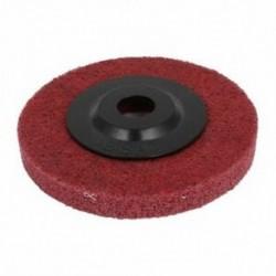 100mmx16mmx12mm piros nylon polírozókerék sarokcsiszolóhoz, piros, fekete D4O2