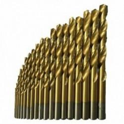 1X (50 db titán bevonatú, nagysebességű acél fúrófej szerszámkészlet 1 / 1,5 / 2 / 2,5 / 3 I9A2