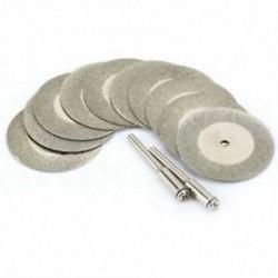 1X (10 darab tartozék 35 mm-es gyémánt darabolótárcsa a D C0I2 fémcsiszolókoronghoz)