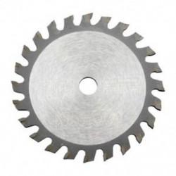 1X (85mm 24 fogazott TCT körlemez tárcsás korongok V1A1 favágáshoz)