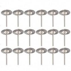 2X (rozsdamentes acél drótkefék tartozékai 1 N0V4-es forgószerszám-készlethez