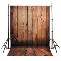 5x7FT vinil fotózás háttér Photo Photo háttér, barna fa padló C2D2