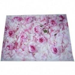 210x150cm-es Rózsaszín rózsás háttér stúdió fotózáshoz - L2X5