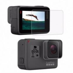 PULUZ GoPro kiegészítőkhez edzett üveg film LCD HD képernyővédő fólia   Hou X7G6