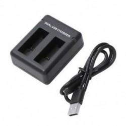 AHDBT-501 USB kettős töltő GoPro Hero 5 Black E1C2-hez