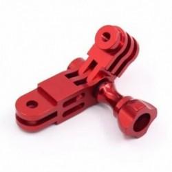 CNC alumínium ötvözet Háromutas forgókaros rögzítő adapter a GOPRO Hero 1 2 3 M9S8 készülékhez