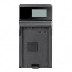 SLIM LCD töltő LP-E8, LC-E8E és EOS 550D, EOS 600D, EOS 700D, EOS A1P7