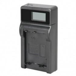 Akkumulátortöltő a Sony NP-FW50 készülékhez, kompatibilis a Sony Alpha NEX-5, NEX-3, N D1L6 készülékkel