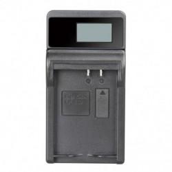 LP-E10 LCD vékony töltő EOS 1100D, EOS 1200D, EOS Kiss X50, EOS Rebel T L2Z5 modellekhez