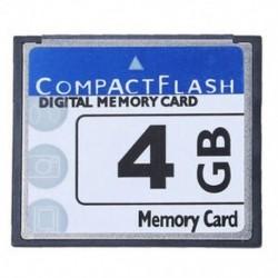 1X (Professzionális 4 GB-os kompakt flash memóriakártya (fehér és kék) N2T2)