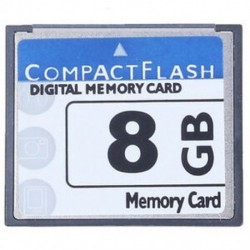 Professzionális 8 GB-os kompakt flash memóriakártya (fehér és kék) I8S3 I1M7
