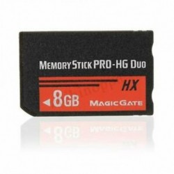 8 GB-os memóriakártya MS Pro Duo HX Flash kártya a Sony PSP Cybershot fényképezőgéphez X5E5