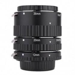 automatikus Focus Macro hosszabbító cső gyűrű a Nikon D5200 D7100 D600 D300 D90 BT készülékhez