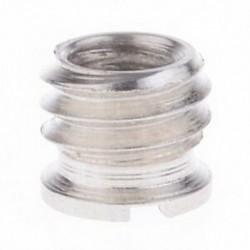 1X (10 darab 1/4 - 3/8 átalakító adapter fém csavaros rögzítéshez, tripo S1J7 esetén
