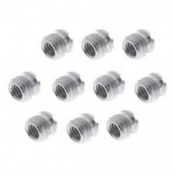 10 darab 1/4 - 3/8 átalakító adapter fém csavaros rögzítéshez, a Q1X8 állványhoz