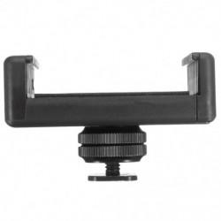 1/4 hüvelykes Flash forró cipőcsavar-adapter állványra szerelt telefontartó tartó Ds D9A2-hez