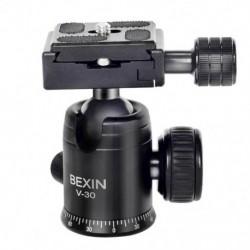 1X (Bexin V-30 360 fokos forgó hordozható mini kamera video gömb állvány HeW1K1)